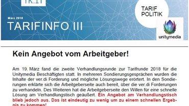 Tarifinfo 3 Unitymedia - Teaser