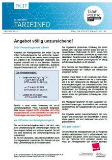 Tarifinfo 13 - Seite 1