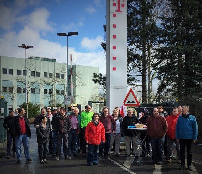 T-Systems Aachen, 5. April 2018