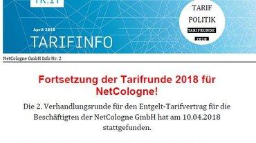 Tarifinfo NetCologne 2 - Teaser