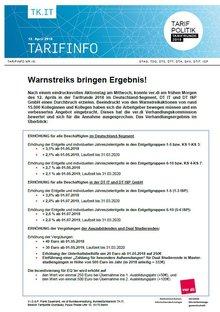 Tarifinfo 16 - Seite 1 von 4