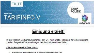 Tarifinfo Unitymedia 5 - Teaser
