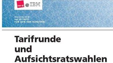 Vorbereitung Tarifrunde IBM 2018 - Teaser