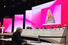 Kornelia Dubbel in der Hauptversammlung der Deutschen Telekom AG am 17.05.2018 in Bonn