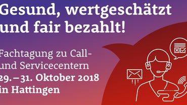 Call- und Servicecentertagung 2018