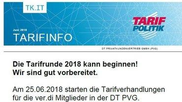 Tarifinfo 1 PVG 2018 - Teaser