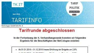 Tarifinfo 4 NetCologne - Teaser