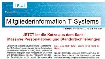 Mitgliederinfo T-Systems 21.06.2018 - Teaser