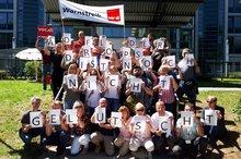 Warnstreik TSI Bielefeld 27.06.2018