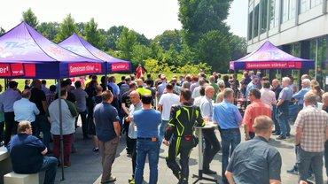 Warnstreik TSI Düsseldorf, 26.06.2018