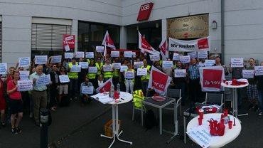 Warnstreik TSI Bonn, 28.06.2018