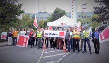 Warnstreik T-Systems in Aachen am 12.07.2018