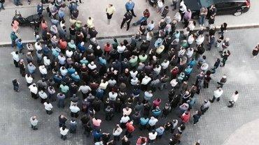 Manevir-Beschäftigte protestieren