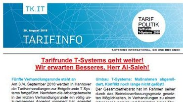 Tarifinfo 12 TSI 2018 - Teaserformat