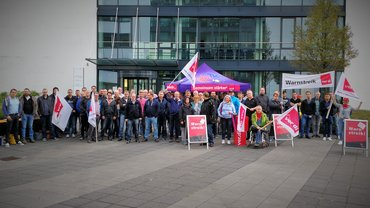Warnstreik T-Systems, Münster 03.09.2018