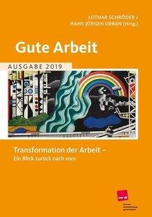 Jahrbuch Gute Arbeit 2019 - Titelseite