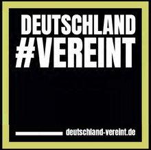 deutschland#vereint - Logo
