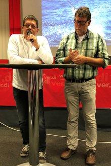Uwe Kernbach und Detlev Rockenberg