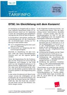 Tarifinfo DTSE - Seite 1