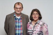 Herbert Comanns und Astrid Kohnen
