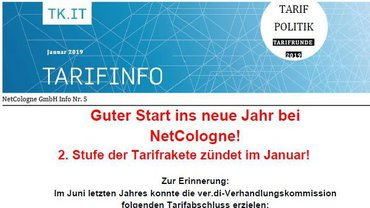 Tarifinfo 5 NetCologne - Teaser