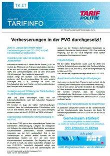 Tarifinfo 01/2019 PVG