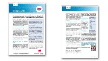 Tarifinfo 01/2019 Verhandlungen Harmonisierung ETRVs Telekom-Konzern gehen weiter