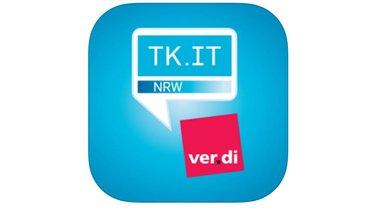 ver.di App - Logo Teaserformat