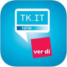 Logo ver.di App ver.di TK/IT/DV NRW (FB9)
