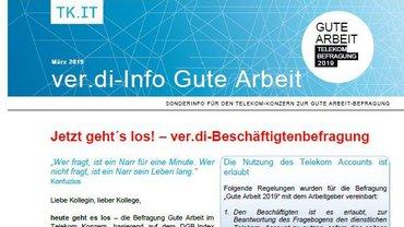 Tarifinfo 4 Gute Arbeit Telekom-Konzern 2019 - Teaserformat