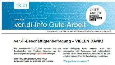 Tarifinfo 6 Gute Arbeit Telekom-Konzern 2019 - Teaserformat