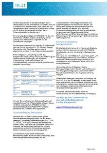Tarifinfo STRABAG PFS Juni 2019 - Seite 2 von 2