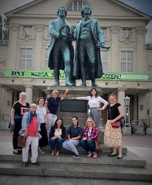 Unser Frauenvorstand des Landesfachbereichs 9 NRW in Weimar