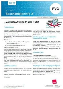 Beschäftigteninfo 02/2019 DT PVG - Seite 1 von 3