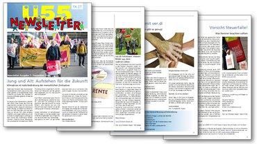 Ü55-Newsleter des ver.di-Fachbereichs TK-IT - Ausgabe 01/2019