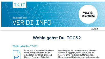 Flyer Wohin gehtst Du TGCS - Teaser