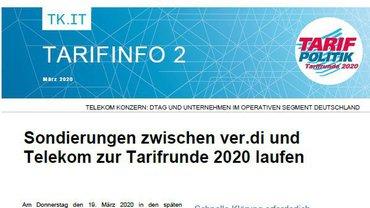 Tarifinfo 02 Telekom - Sondierungen laufen - Teaserformat