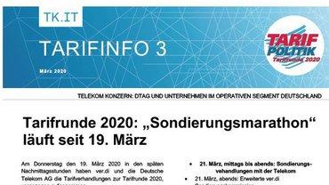 Tarifinfo 03 Telekom - Sondierungsmarathon - Teaserformat