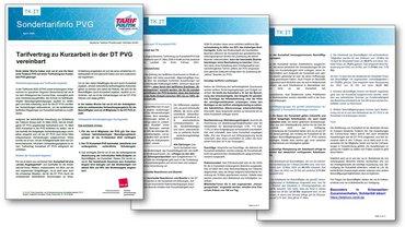 Sonderinfo TV Kurzarbeit DT PVG
