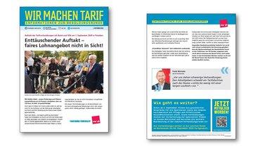 ver.di-Info Tarif- und Besolungsrunde ÖD 2020 - erste Verhandlungsrunde