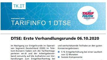 Tarifinfo 1 - Tarifrunde DTSE 2020 - Teaserformat