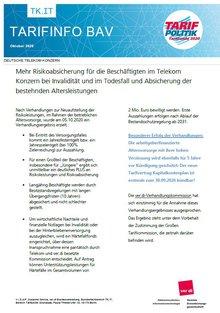 Tarifinfo BAV Telekom - Seite 1 von 2