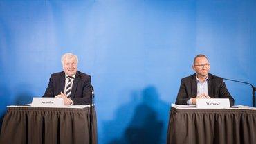 Pressekonferenz zur Tarif- und Besoldungsrunde 2020