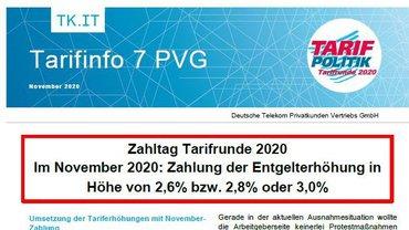 Tarifinfo 7 Tarifrunde DT PVG 2020 - Teaser