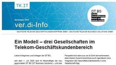 ver.di-Info DT BS November 2020 - Teaserformat