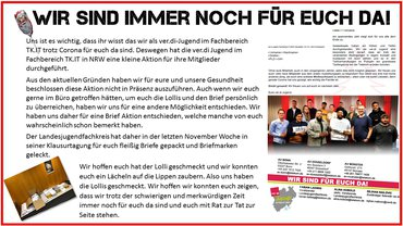 Nikolaus-Aktion Jugend 2020