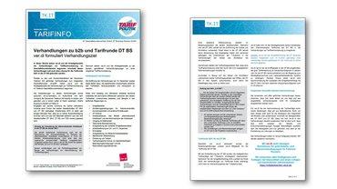 Tarifinfo DT BS - Tarifrunde 2021 - Verhandlungen b2b - ver.di formuliert Verhandlungsziel