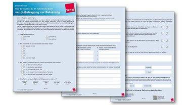 Gesprächsbogen Befragung zur Belastung im Field Service West der DTA GmbH