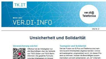 Flyer Telefónica: Unsicherheit und Solidarität - Teaser