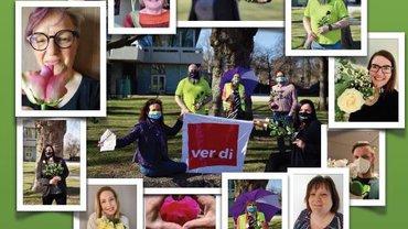 Internationaler Frauentag 2021 - Betriebsgruppe Zentrale Betriebe Telekom Köln - Teaser
